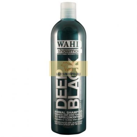 Wahl Deep Black sampon – Fekete bundára 500ml