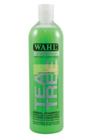 Wahl Tea Tree-  Antibakteriális nyugtató, ápoló sampon. 500ml